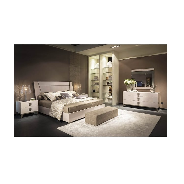 Decorum furniture alf mont blanc bedroom collection for Bedroom collections