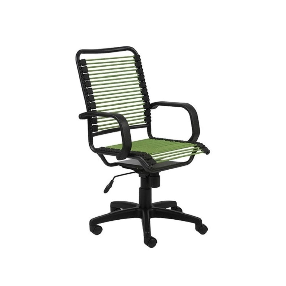 Euro Style Bradley Bungie Desk Chair - Green