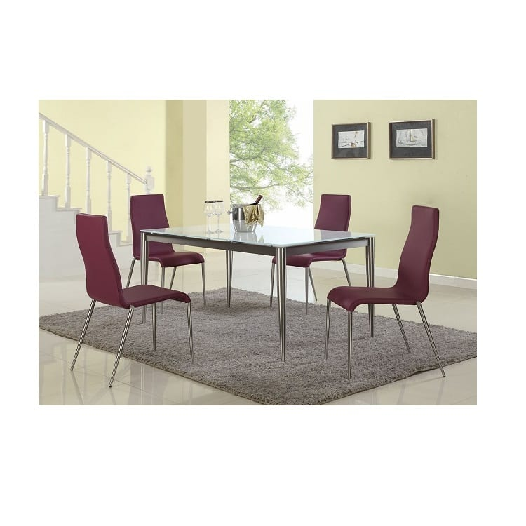 Chintaly Remy Dining Table and Side Chairs