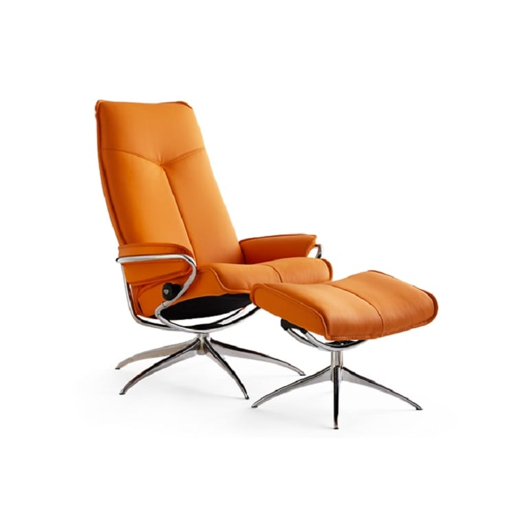 Ekornes Stressless City High Back Recliner Decorum