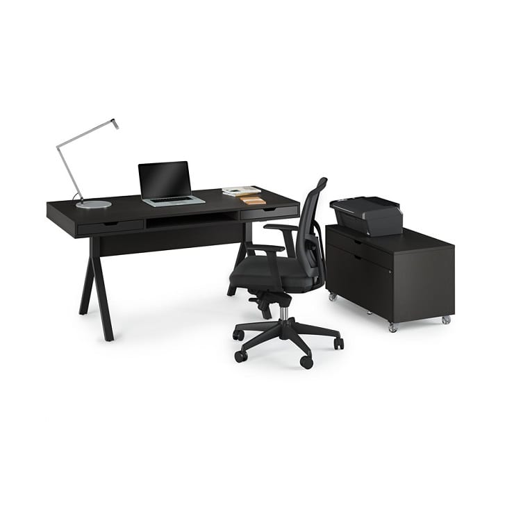 BDI Modica Desk with File Cabinet