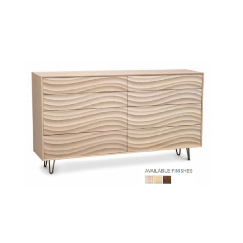 Copeland Wave Bedroom Collection - 8 Drawers Wave