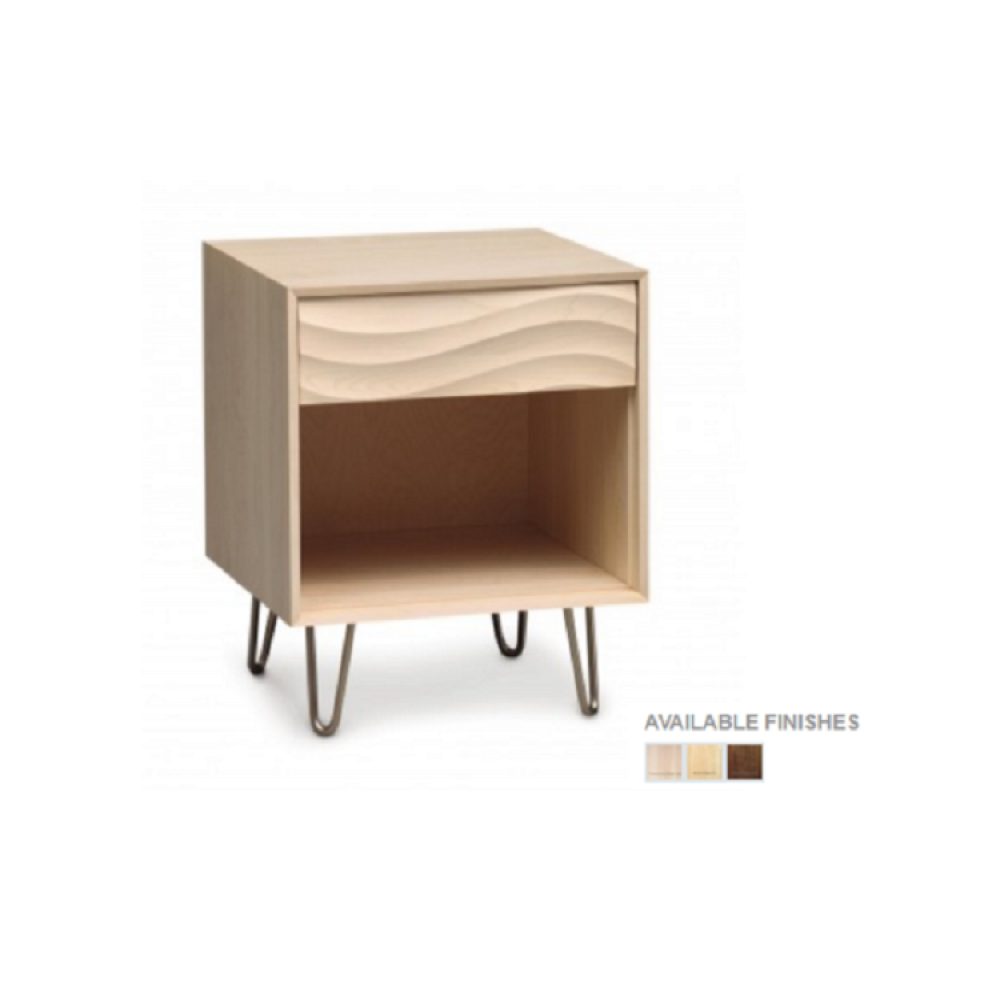 Copeland Wave Bedroom Collection - 1 Drawers