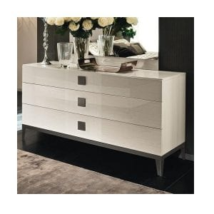 Alf Mont Blanc Bedroom – 3 Drawer Dresser