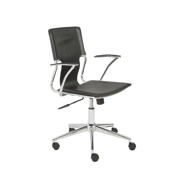 Euro Style Terry Office Chair - Black