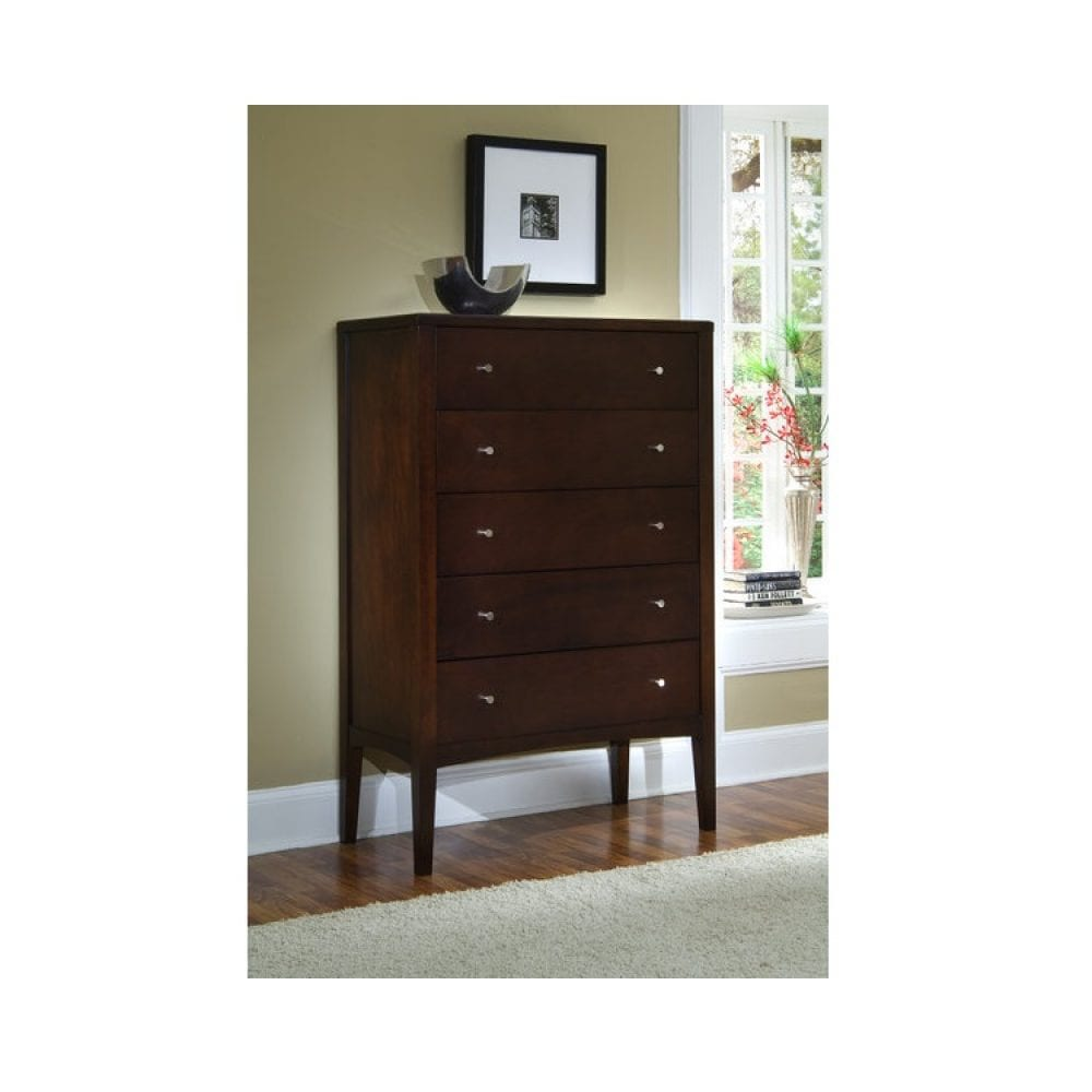 5 Drawer High Chest