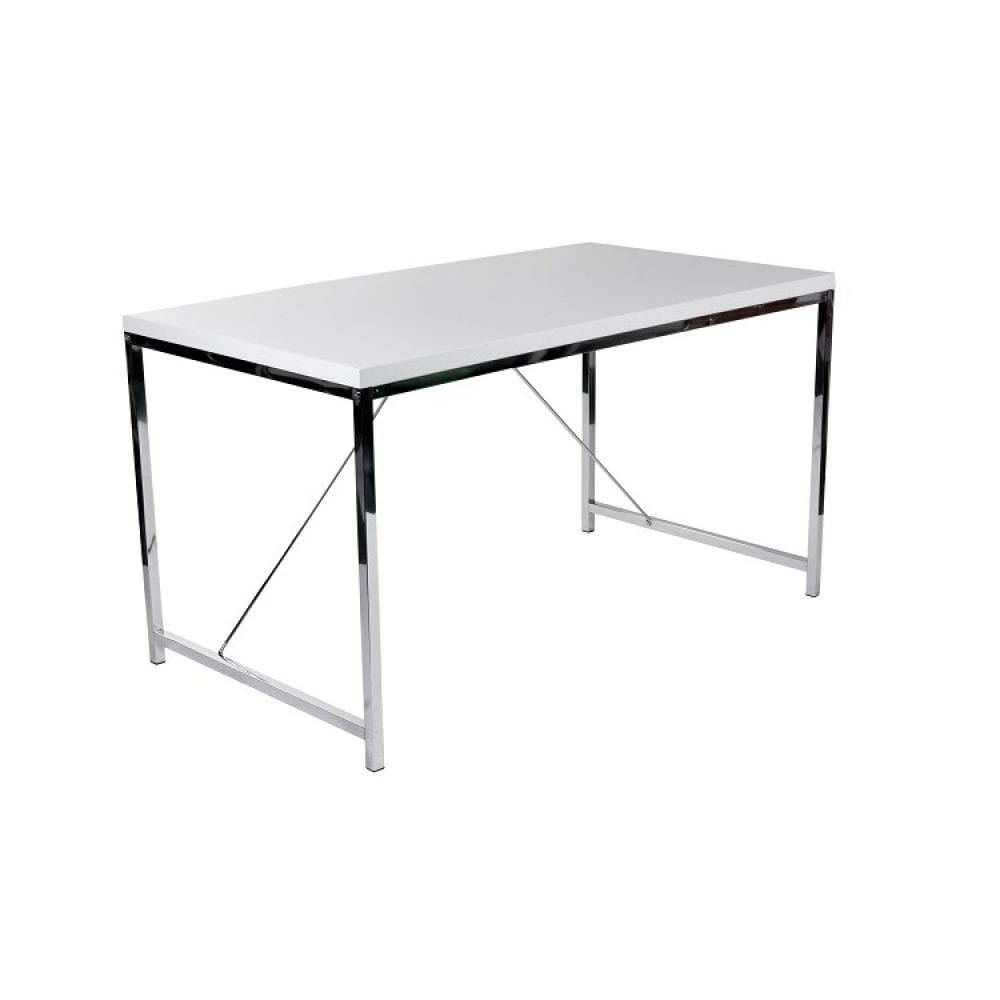 Euro Style Gilbert Desk - White