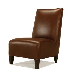 McCreary Leather Armless Chair