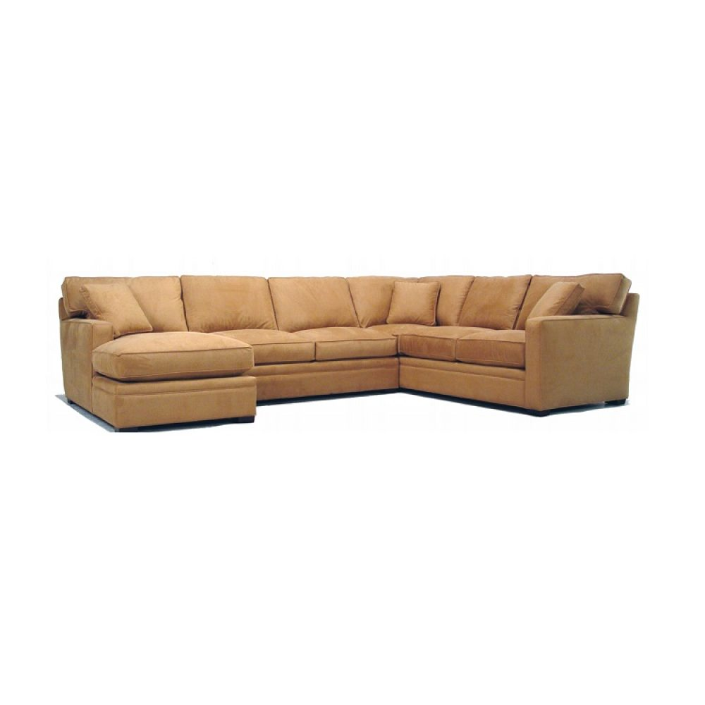 Mccreary Modern Chaise Sectional 0693
