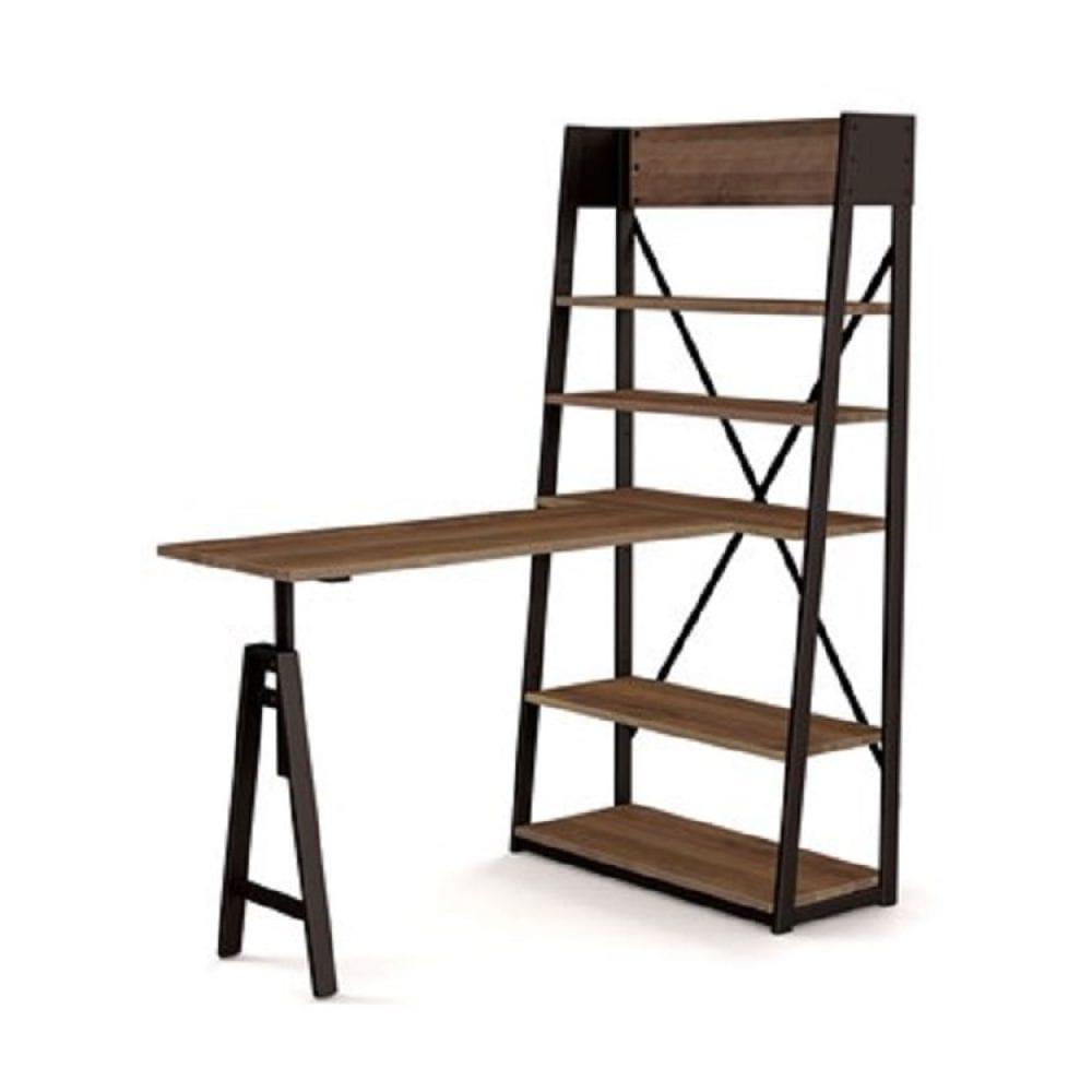 Amisco Rupert Freestanding Bar with Shelf Unit