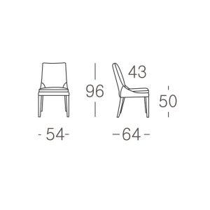Kuka Chair Y1229D Norfolk