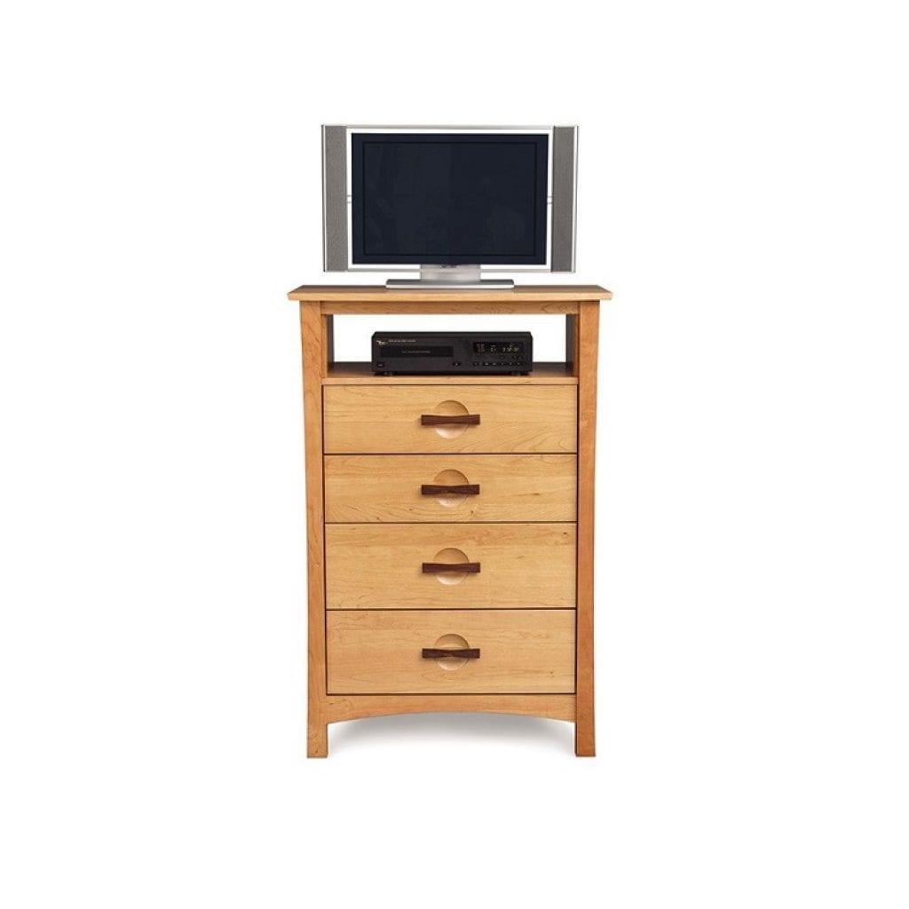 Berkeley 4 drawer chest and tv organizer