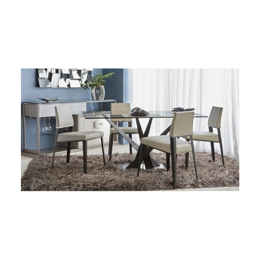 Elite Modern Crystal Dining Table