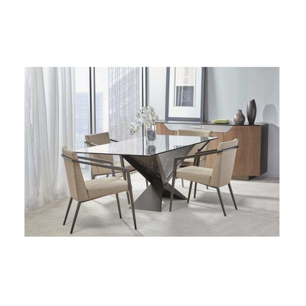 Elite modern atlas dining table