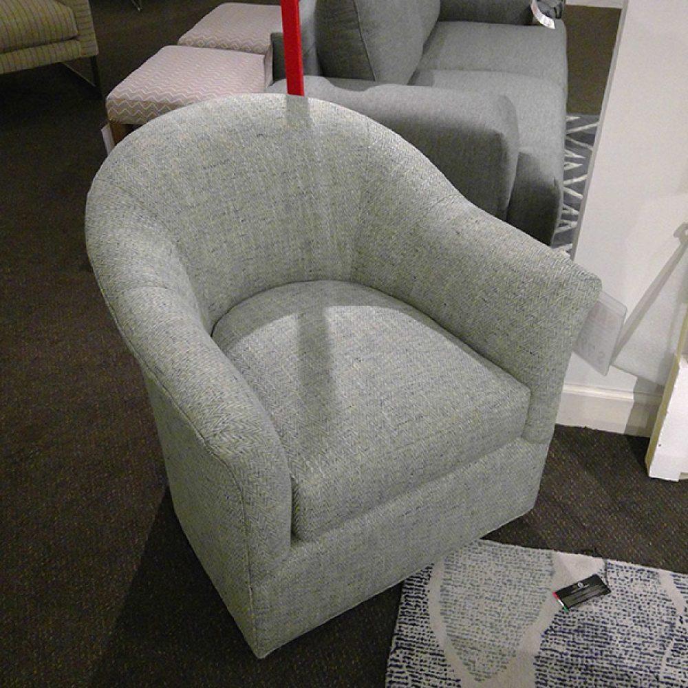 McCreary Modern Swivel-Glider Chair | Decorum Furniture Store - Part 1