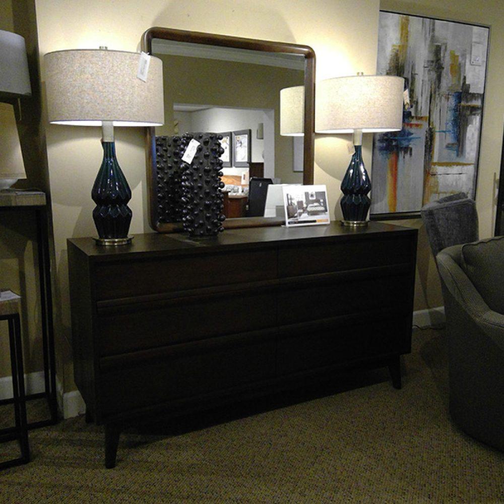 Palliser Portrait Dresser And Mirror Set Decorum Furniture Store