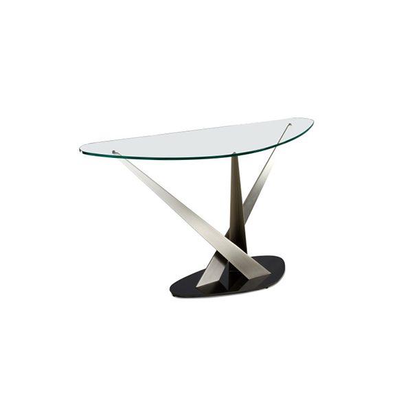Elite Crystal Console Table Decorum Furniture Store Part 1